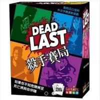 桌遊 正版 - 殺手賽局 Dead Last 繁體中文版【Fly Me♥妃米小舖】