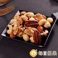 【每日優果】罐裝活力綜合堅果(350G)