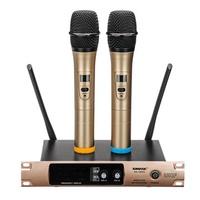 UHF Wireless Microphone Broadcast Singing Family KTV Karaoke Microphones System
