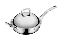 [Direct from Germany] WMF 753506040 wok multiply with metal lid, 28 cm