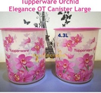 Tupperware Orchid Elegance One Touch 4.3L (2)