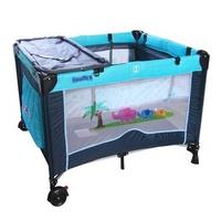 【寶盟BAUMER】親子象遊戲床(水藍) 【樂寶家】免運費