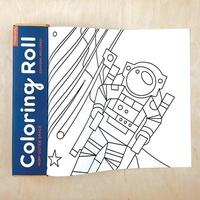 著色繪畫紙捲-太空巡航