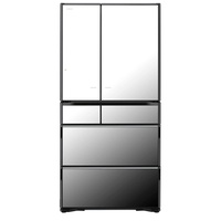 HITACHI RX730GSX 6 DR FRIDGE (NET 572L) CRYSTAL MIRROR + Free Hitachi Made in Japan Air Purifier