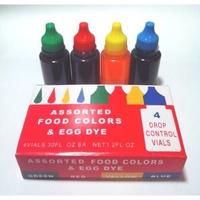 四色水 食用色素