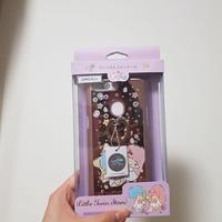 《二手》三麗鷗 oppo r11s施華彩鑽鏡面指環扣手機殼-寶石雙子星