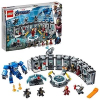 LEGO 樂高 Marvel Avengers Iron Man Hall of Armor 76125 Building Kit (524 Piece)