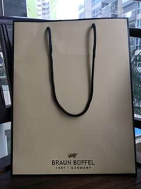Braun buffel paper bag