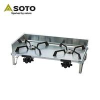 SOTO 雙口爐ST-526 不鏽鋼雙口爐 爐具 SOTO 露營