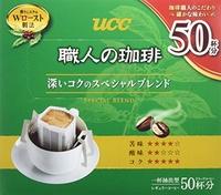 UCC artisan 39 s coffee drip coffee deep rich special blend 50 cups 350 g