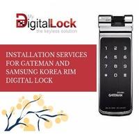INSTALLATION SERVICES FOR GATEMAN AND SAMSUNG KOREA RIM DIGITAL LOCK