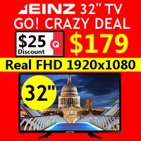 [SAMSUNG PANEL] EINZ 32 INCH FHD/ HD LED TV /SAMSUNG DISPLAY /SPEAKER /TV /SAMSUNG