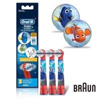 【Oral-B】歐樂B 迪士尼兒童刷頭EB10-3(1卡3入)
