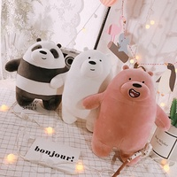 We Bare Bears /  Webarebear / Plush /  Softtoy  / We Bare Bears Keychain / Keychain / Toys