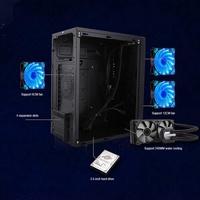 ✨✨✨Mini MATX/ITX Motherboard Computer Case PC Desktop Computer Case