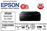 Epson SureColor SC-P607 Business , Borderless & Multi-media Professional 9-Colour Photo Printer bundle with CNY gift:64GB flash drive  ** Free $60 NTUC Voucher Till 2nd Mar 2019 ** SCP607 SC P607