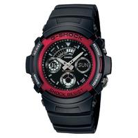 Casio G-Shock Men's Red Resin Strap Watch AW-591-4