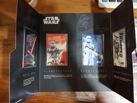 Star wars limited edition ezlink cards set - 4 cards