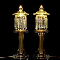 Buddha front lamp light lamp led crystal lamp Buddhism heart scripture shrine lamp
