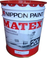 Nippon Paint Matex 20 Litre Emulsion Paint for Interior Walls and Ceilings