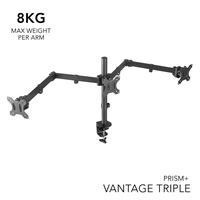 PRISM+ Vantage Triple Monitor VESA Monitor Arm