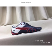 100% Ori  shoes Future Cat Leather SF BMW Shoes blue cas