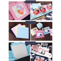 TI Birthday Party Explosion Surprise Gift Box Creative DIY Scrapbook Photo Album with Accessories Kit for Birthday Gift