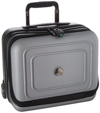 DELSEY Paris Delsey Luggage Cruise Lite Hardside 2 Wheel Underseater W/Front Pocket, PLATINUM