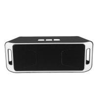 Bluetooth V3.0 Portable Wireless Speaker USB Flash FM Radio Stereo Horns 5 Color White - intl