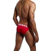 JOCKMAIL Men's Underwear Cotton Sexy Low Waist U-Convex Underwear