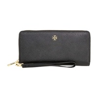 Tory Burch York Ladies Small Leather Zip Passport Continental Wallet 40882001