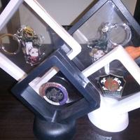 PE膜 展示盒 吊飾/掛件/鑰匙圈/徽章