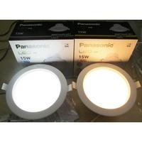 Panasonic 國際牌 LED 崁燈 含快速接頭 150mm 12W/15W(黃光/自然光/白光) 全電壓