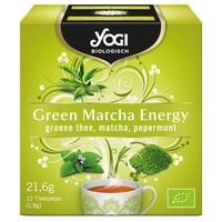 荷蘭好物***瑜珈 有機*綠色抹茶能量茶***12份(s)