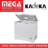KADEKA KCF300 300L SINGLE DOOR CHEST FREEZER / LOCAL WARRANTY