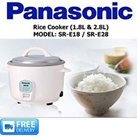 Panasonic SR-E18 Conventional Rice Cooker
