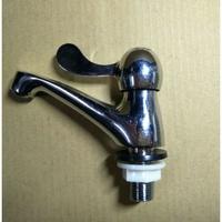 陶瓷省水單把手立栓(霧狀) 浴室 水龍頭 省水立栓 面盆立栓
