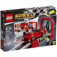 晨芯樂高 Speed Champions75882Ferrari FXX K & Development Center