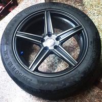 高雄人人輪胎 中古鋁圈 狀況良好 類賓士 非原廠鋁圈 18吋鋁圈 5孔112 8J ET30 一組四顆 不含輪胎