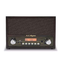 AC Ryan Playon! Retro Mini FM/BT/USB Speaker Clock