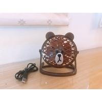 LINE 熊大 USB涼涼扇 電風扇