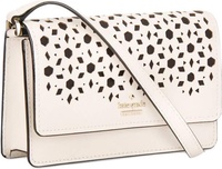 Kate Spade Arielle Cameron Street Perforated Crossbody Sling Leather Womens Bag (Pink)