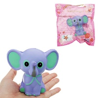 Elephant Squishy 15CM Slow Rising With Packaging Collection Gift Soft Toy