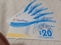 🚚 Ntuc fairprice voucher
