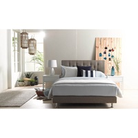Miles Queen Size Bed Frame in Fabric Upholstery