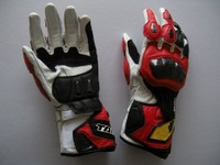 RS-TAICHI RST047 Racing Gloves Motorcycle Gloves Motorcycle Gloves Long Drop(Color:Red)(Size:M) - intl