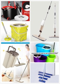 ★SPIN MOPS ★SPRAY MOP / LAZY-MOP / FILTER MOP ★2 IN 1 ★Automatic Spin Dry Mop