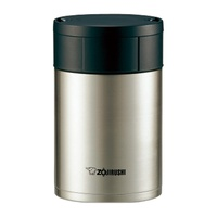 Zojirushi Stainless Steel Food Jar (Stainless) - Lunch Kit 0.55L