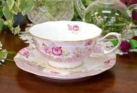 玫瑰茶杯&盤子(意大利製造) poleshop