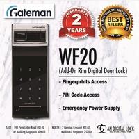 Gateman WF20G Digital Gate Lock| Free Installation